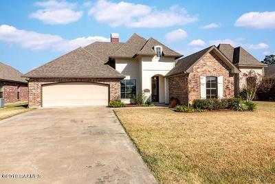 Lafayette Single Family Home For Sale: 113 Blackwater River Drive