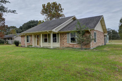 New Iberia Single Family Home For Sale: 1510 O'donnel Road