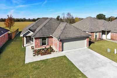 Carencro Single Family Home For Sale: 202 Old Heritage Ln Lane