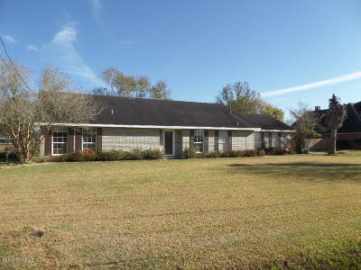 New Iberia Single Family Home For Sale: 2907 Schwing Road