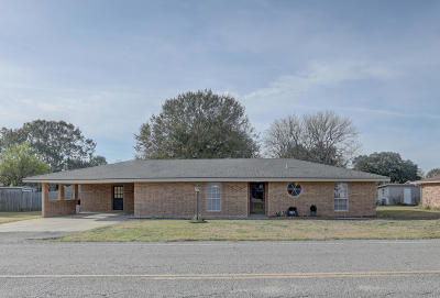 New Iberia Single Family Home For Sale: 2310 Old Jeanerette Road