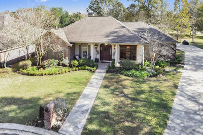 Lafayette Single Family Home For Sale: 103 Chablis Circle