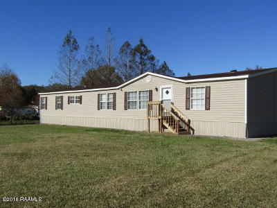 St. Martinville Single Family Home For Sale: 1202 Prairie Hwy