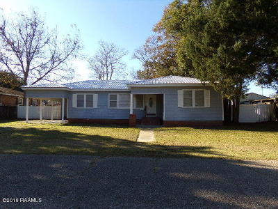 Franklin Single Family Home For Sale: 1025 B Street