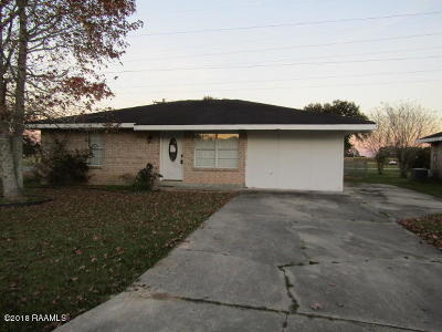 Duson Single Family Home For Sale: 101 Ridge Crest Lane #L