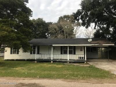 Abbeville Single Family Home For Sale: 3129 Pine Street