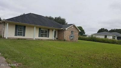 Church Point Single Family Home For Sale: 2132 Peach Bloom Hwy Hill