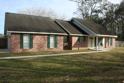 St Martinville, Breaux Bridge, Opelousas Single Family Home For Sale: 192 Marigold Drive