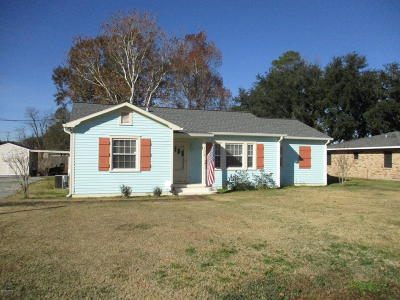 Ville Platte Single Family Home For Sale: 302 Ernest Street