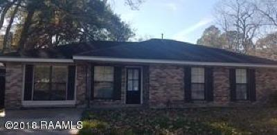 Iberia Parish Single Family Home For Sale: 912 Park Avenue