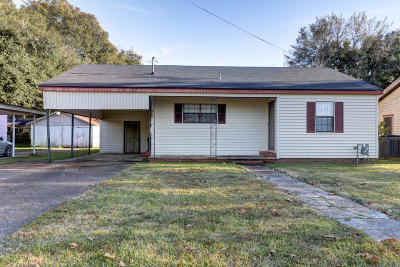 New Iberia Single Family Home For Sale: 1029 French Street
