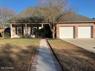 Lafayette Rental For Rent: 109 Tapestry Circle