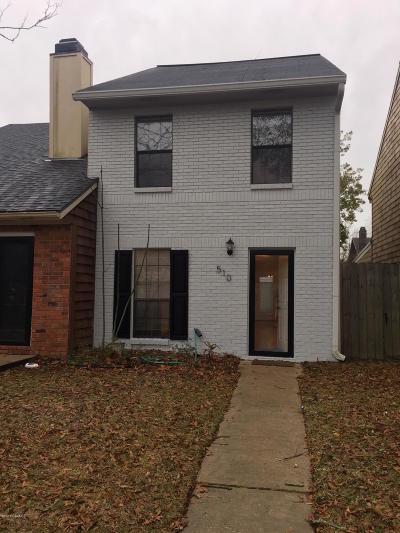 Lafayette Rental For Rent: 510 Cobblestone Road