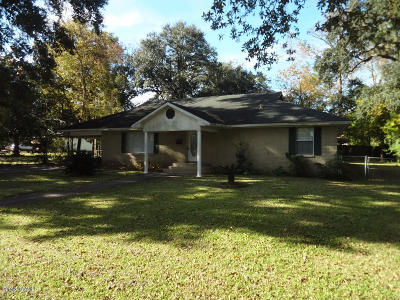 New Iberia Single Family Home For Sale: 1114 Iberia Street