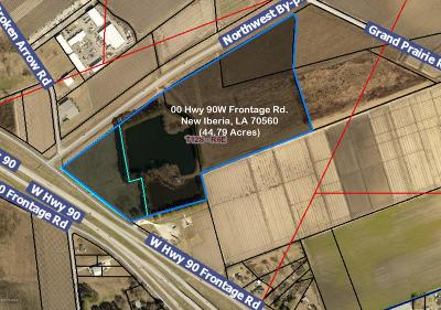 New Iberia Residential Lots & Land For Sale: 00 W Hwy 90 Frontage Road