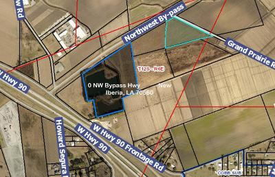 New Iberia Residential Lots & Land For Sale: NW Bypass Hwy