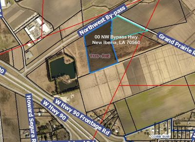 New Iberia Residential Lots & Land For Sale: 00 NW Bypass Hwy