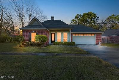 Lafayette Single Family Home For Sale: 101 River Birch Drive