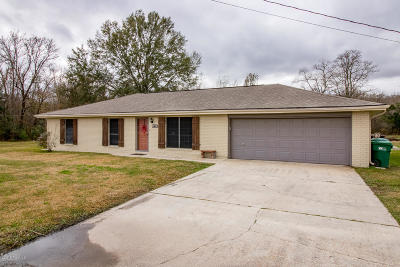 St. Martinville Single Family Home For Sale: 2062 Cypress Island Hwy