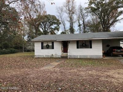 Single Family Home For Sale: 124 Lester Street