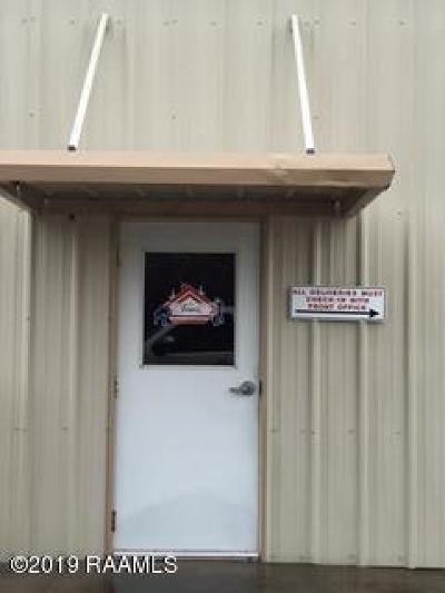 Lafayette Parish Commercial Lease For Lease: 501 Soul Drive