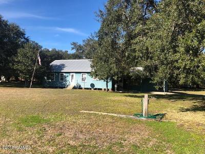 Kaplan Single Family Home For Sale: 27820 La Hwy 82 W
