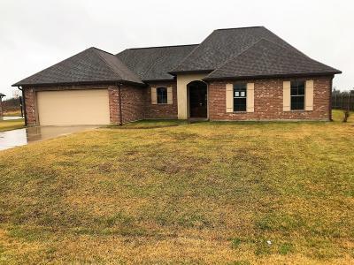 Breaux Bridge Single Family Home For Sale: 1082 Bear Creek Circle