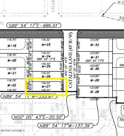 Sugar Mill Pond Residential Lots & Land For Sale: 411 Catalina Lane