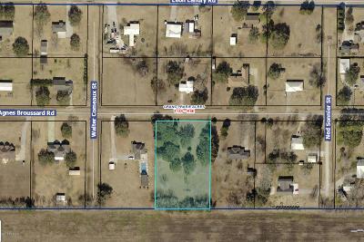 Iberia Parish Residential Lots & Land For Sale: 2117 Agnes Broussard Road