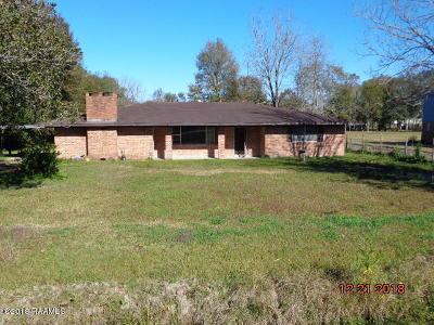St Martinville, Breaux Bridge, Abbeville Single Family Home For Sale: 3214 E La Hwy 338
