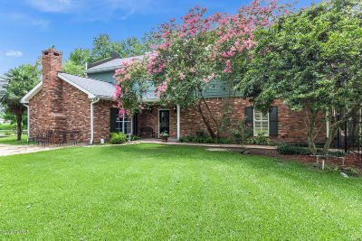 New Iberia Single Family Home For Sale: 705 Quail Ridge