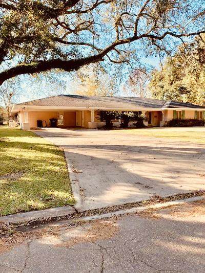 Opelousas Single Family Home For Sale: 1614 S Market Street