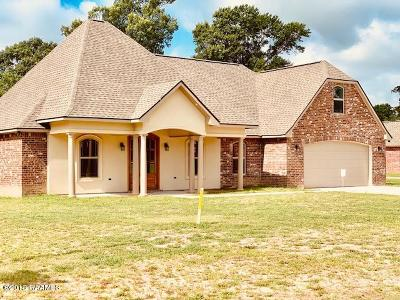 St Martinville, Breaux Bridge, Opelousas Single Family Home For Sale: 167 Coushatta Lane