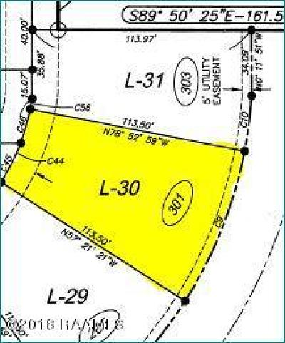 Sugar Mill Pond Residential Lots & Land For Sale: 301 Montego Bay Drive