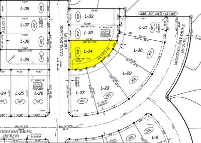 Sugar Mill Pond Residential Lots & Land For Sale: 402 Catalina Lane