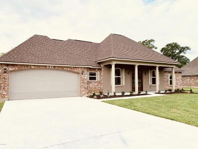 St Martinville, Breaux Bridge, Opelousas Single Family Home For Sale: 157 Coushatta Lane