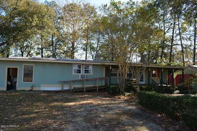 Scott Single Family Home For Sale: 110 Pellerin Road