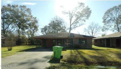 Breaux Bridge Single Family Home For Sale: 809 Cecile Boulevard