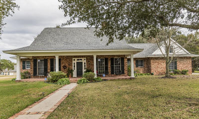 New Iberia Single Family Home For Sale: 17 Paradise Woods