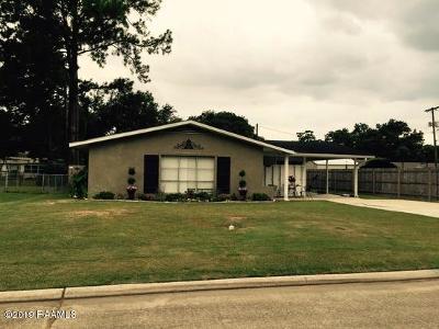 Iberia Parish Single Family Home For Sale: 205 Carmen Street