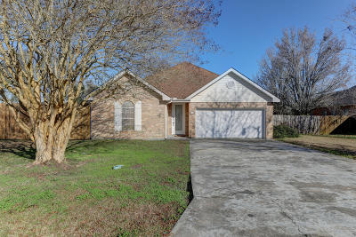 Broussard Single Family Home For Sale: 101 Sundown Drive