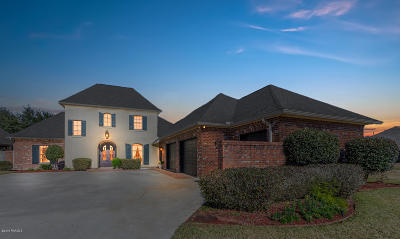 Broussard Single Family Home For Sale: 1101 Le Triomphe Parkway