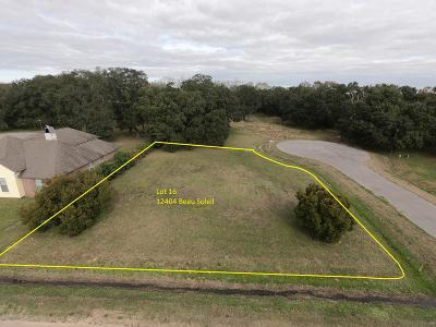 Vermilion Parish Residential Lots & Land For Sale: 12404 Beau Soleil Drive
