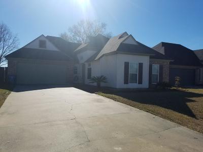Scott Single Family Home For Sale: 201 Regal Oaks Drive