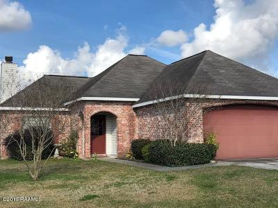 Lafayette  Single Family Home For Sale: 201 Harvest Pointe Circle