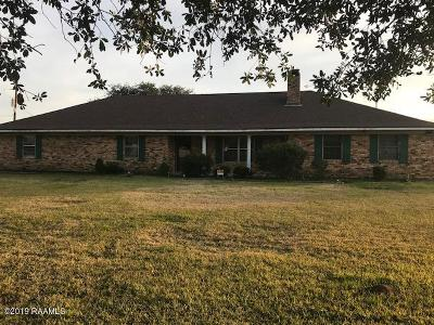 St Martinville, Breaux Bridge, Opelousas Single Family Home For Sale: 554 Patty Street