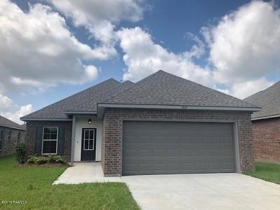 Lafayette  Single Family Home For Sale: 603 Elwick Drive
