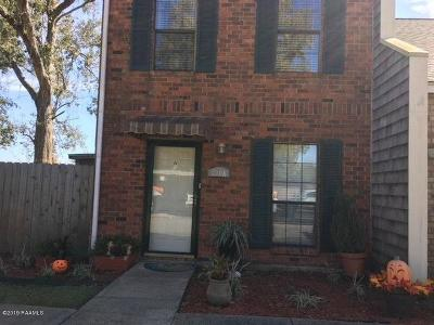 Lafayette  Single Family Home For Sale: 210 Long Plantation Blvd Boulevard #A