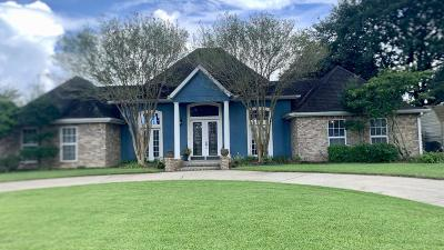 New Iberia Single Family Home For Sale: 1510 Nesbitt Drive