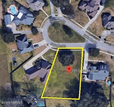 Lafayette Residential Lots & Land For Sale: 205 Salvador Drive
